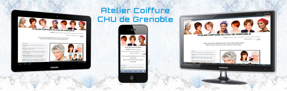 Sites Web Atelier Coiffure du CHU Grenoble