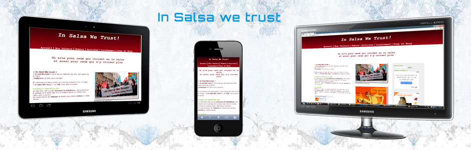 Sites Web In Salsa We Trust